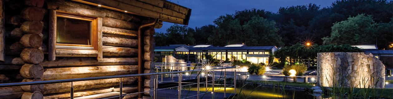 Erlebnisbaustein - Sauna & Solbad